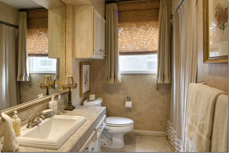 6 Styles of Bathroom Window Treatments
