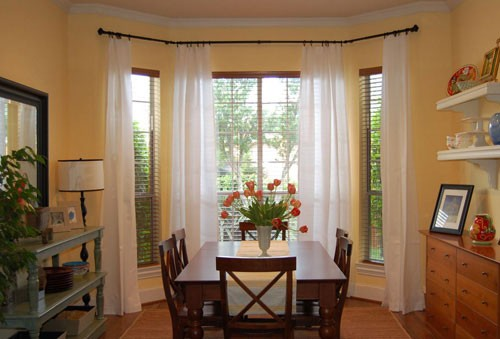 Stylish Suggestions for Bay Window Curtains