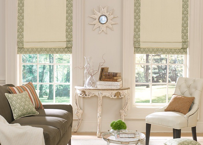 Custom Roller Shades or Custom Roman Shades? Now You Have a Choice