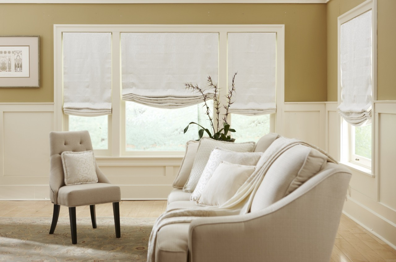 Roman and Roller Shades now sold at Ostanding