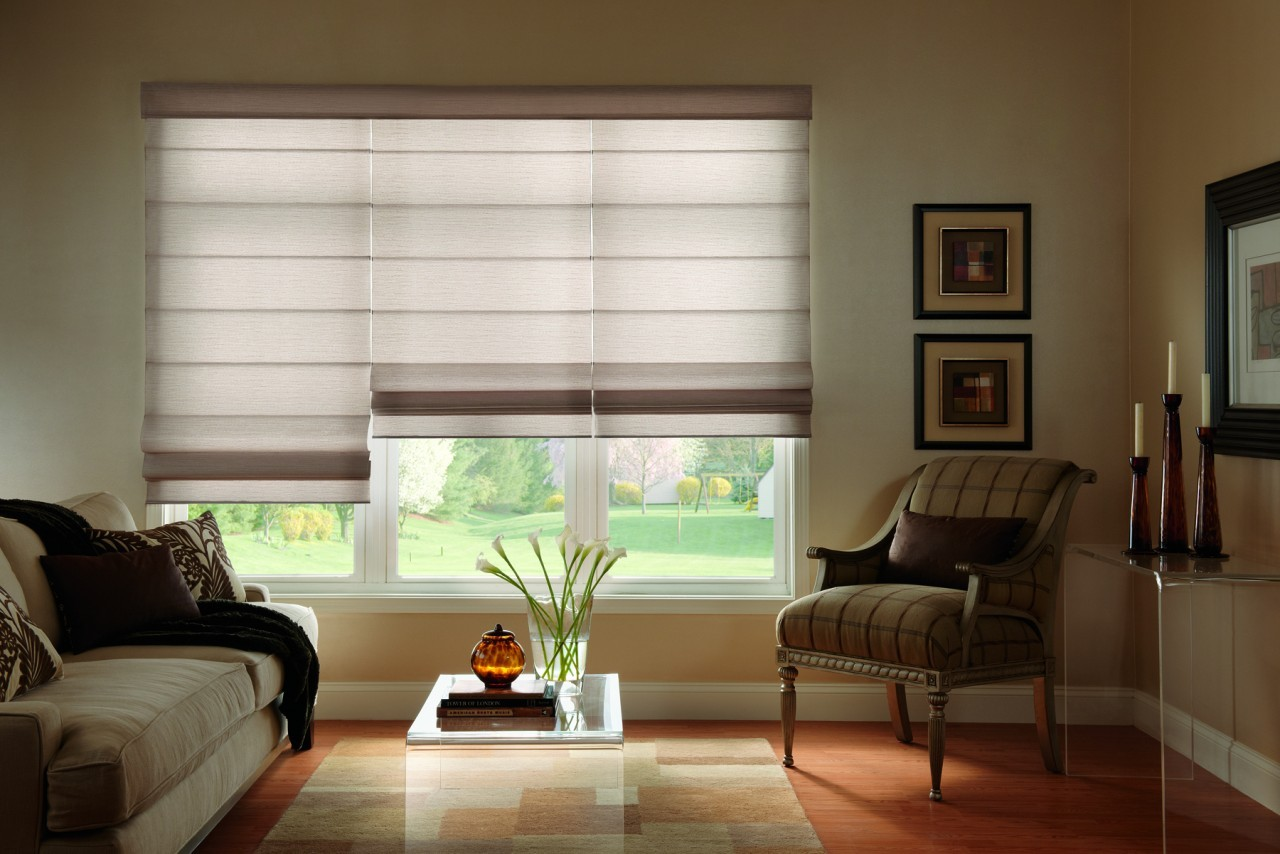 Placement Marketing and Use of Commercial Customized Roman Shades