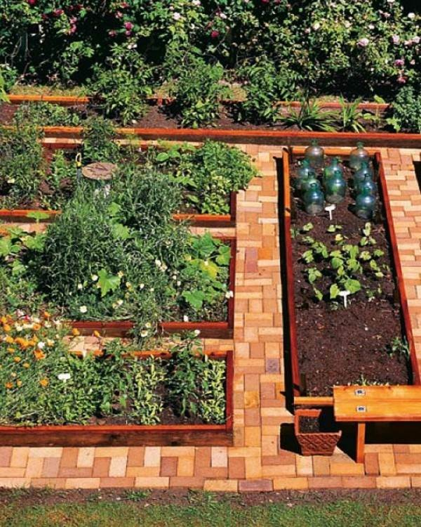 Landscaping design principles for the perfect garden bed