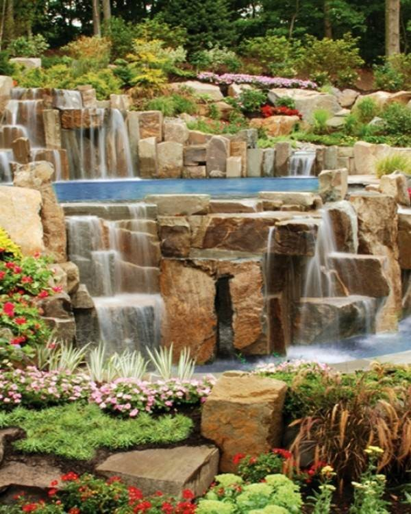 Tips for Building a Waterfall in a Backyard