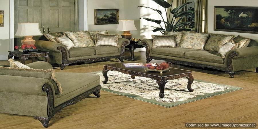 Decorate a formal living room