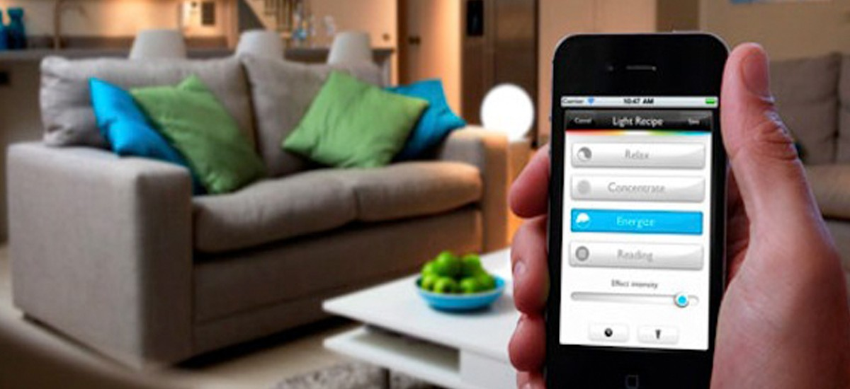A Smartphone for a Smart Home- let it help you to monitor your home