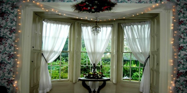 DIY tips on dressing up windows with drapery panels