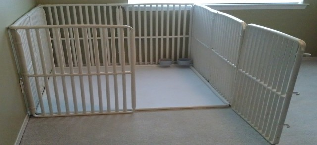 How to build a dog gate using PVC