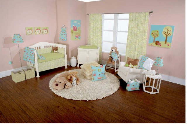 Let Your Baby Decorate the Baby Room