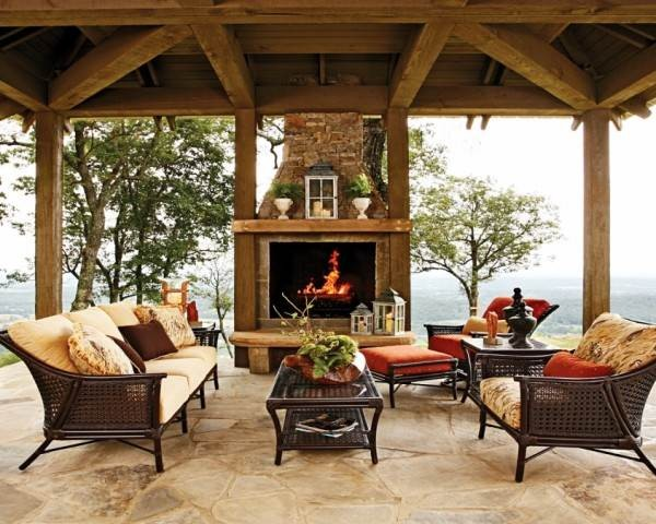 Tips for Exterior Stacked Fireplace